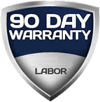 Refrigeration Repair 90 Day Warranty
